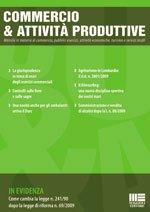 Commercio e attività produttive - 2009 - 12