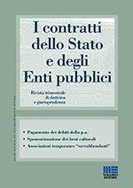 I contratti dello stato e degli enti pubblici - 2017 - 2