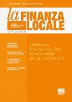 La Finanza locale - 2008 - 12