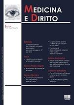 Medicina e diritto - 2014 - 1