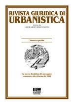 Rivista giuridica di urbanistica - 2013 - 4