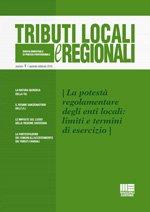 Tributi locali e regionali - 2016 - 1